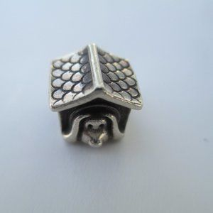 Sterling silver doghouse